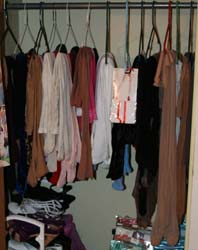 My Pantyhose Closet